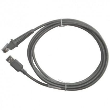 Câble USB Serie A droit Datalogic