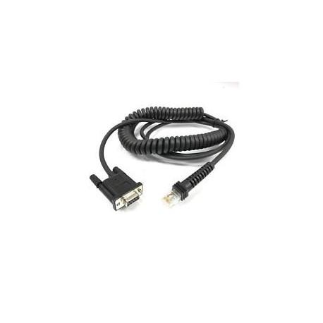 Câble RS232C SUBD9 Femelle 2m Datalogic