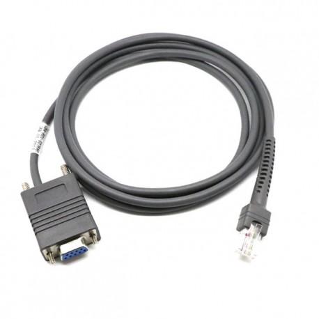 Câble RS232C SUBD9 Femelle Zebra