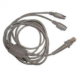Câble CAB-321 Wedge Clavier Mini Din PS/2 droit Datalogic