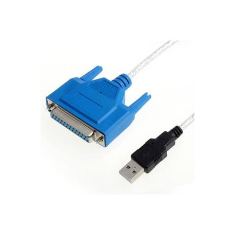 Câble parallèle Centronics IEEE1284 1.8m