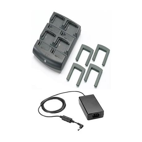 Chargeur de batterie 4 emplacements Zebra pour MC3200